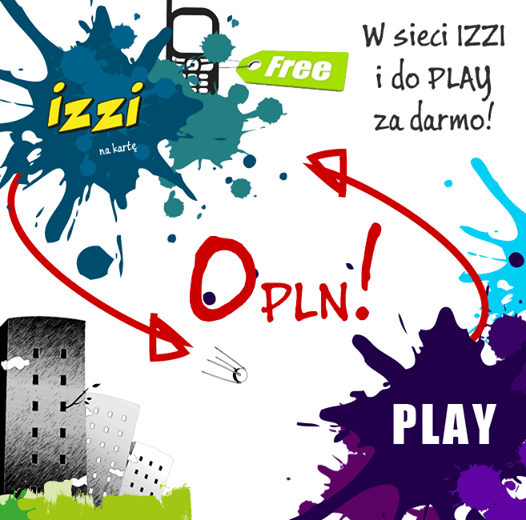IZZI za darmo do Play