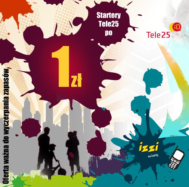 Tele25 startery za 1 zł