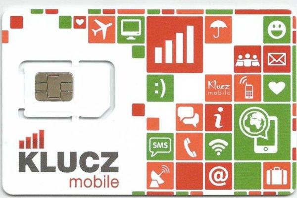 karta SIM KLUCZ Mobile1