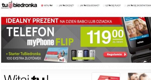 MyPhone Biedronka