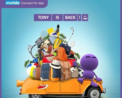 """""""Tony is back!"""" – Vectone Mobile w humorystyczny sposób informuje o usunięciu awarii"""