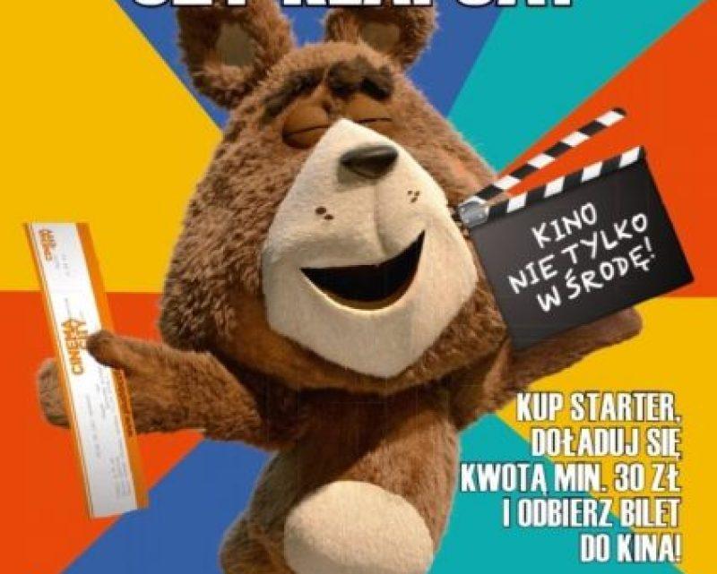 Bilety do Cinema City od Plusha