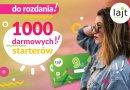 Lajt mobile rozdaje 1000 darmowych starterów z kwotą 9 zł do wykorzystania