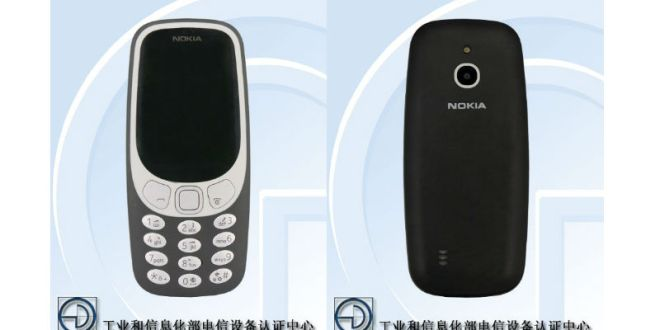 Nokia 3310 4G Specifications Surface on Updated TENAA Listing – NDTV