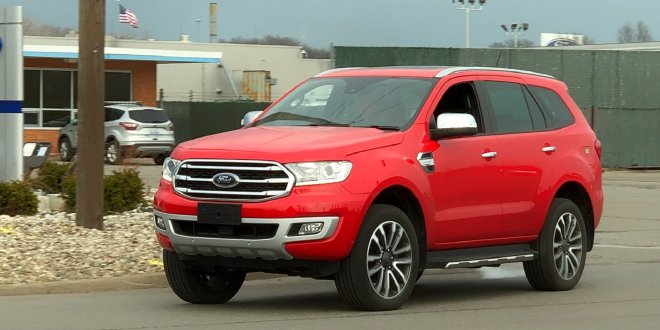 Ford Everest Caught Roaming Near Ford HQ as Bronco Development Ramps Up – The Drive