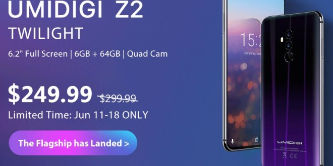 Buy UMIDIGI Z2 4G Phablet For Only $249.99 On GearBest; Only Limited Pieces Left!