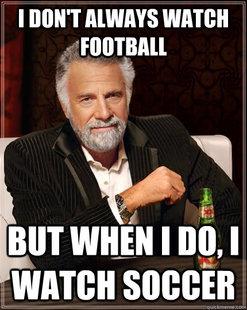 football meme real football