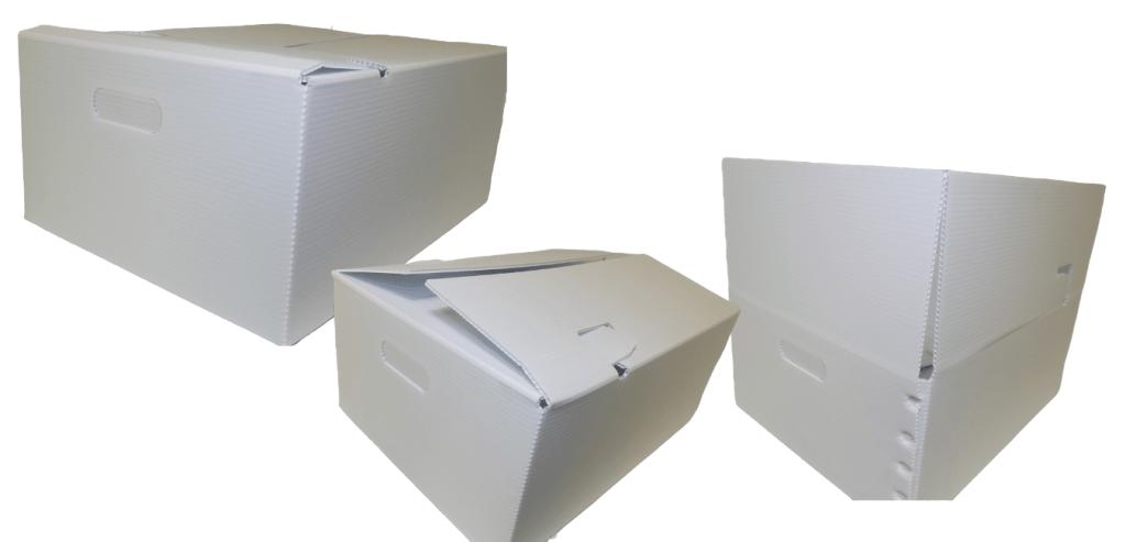 custom plastic corrugate box.