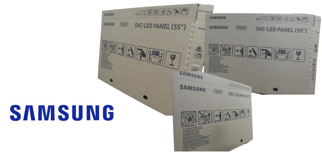 """55"""" Samsung LED TV Box"""