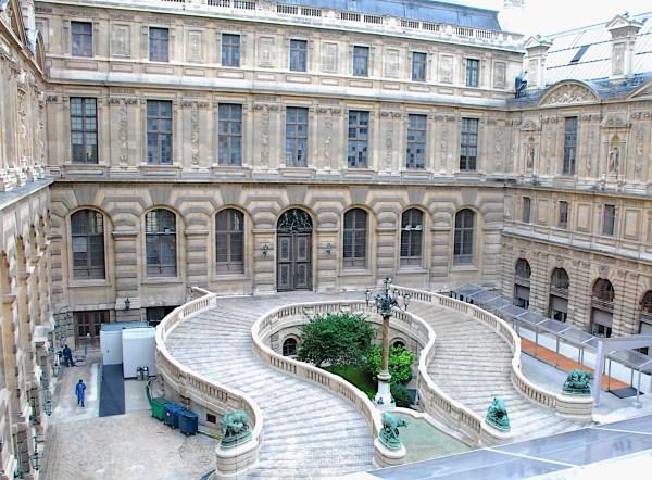 Louvre Paris Courtyard Mvschulze