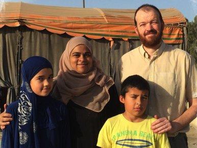 Saiyyidah Zaidi and her family