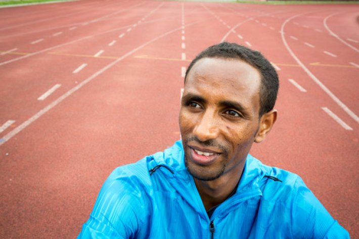 "Yonas Kinde, 36, from Ethiopia is hoping to participate in the 2016 Olympic Games which will be held in Rio de Janeiro, Brazil. ; On a hill overlooking the city of Luxembourg, Yonas Kinde glides around the running track with determination and grace. ""I get power, and more and more power,"" the Ethiopian marathoner says afterwards, a wide smile breaking out over his slender face. ""I normally train every day, but when I heard this news [about the refugee team] I trained two times per day, every day, targeting for these Olympic Games. It's a big motivation."" Yonas, who has lived in Luxembourg for five years now, rarely stops moving. He's been taking French classes regularly, and driving a taxi to earn a living, all the while pushing himself to become a better runner. In Germany last October, he completed a marathon in the impressive time of 2 hours and 17 minutes. But memories of fleeing his home remain uncomfortable territory. ""It's a difficult situation,"" he says about life in Ethiopia. ""It's impossible for me to live there… It's very dangerous for my life."" For Yonas, the chance to run with the world's best in Rio de Janeiro is much more than another race. ""I think it will be the big message that refugees, young athletes, they can do their best,"" he says. ""Of course we have problems – we are refugees – but we can do everything in the refugee camp, so it will help refugee athletes."""