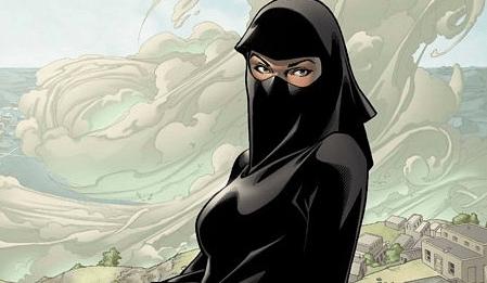 Image result for muslim marvel superhero