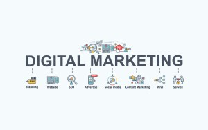 Image. Diagram. Digital marketing workflow.