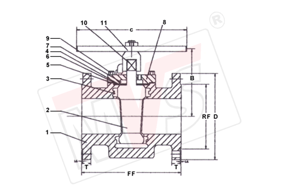 Sleeved Plug Valve Manual or Non Lubricated PTFE Sleeved