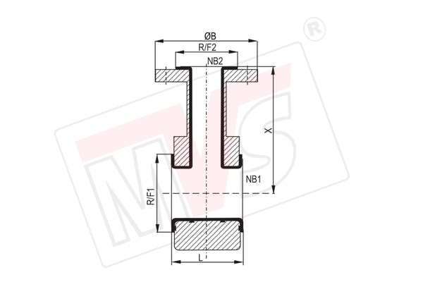 Lined Instrument Tee is PTFE Lined Pipe Fitting for Lined