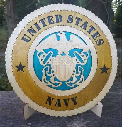 Large Navy Tribute