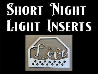 Short Night Light Inserts