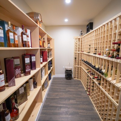 Inside An East Chop Home That Traded A Wine Cellar for A Scotch Vault