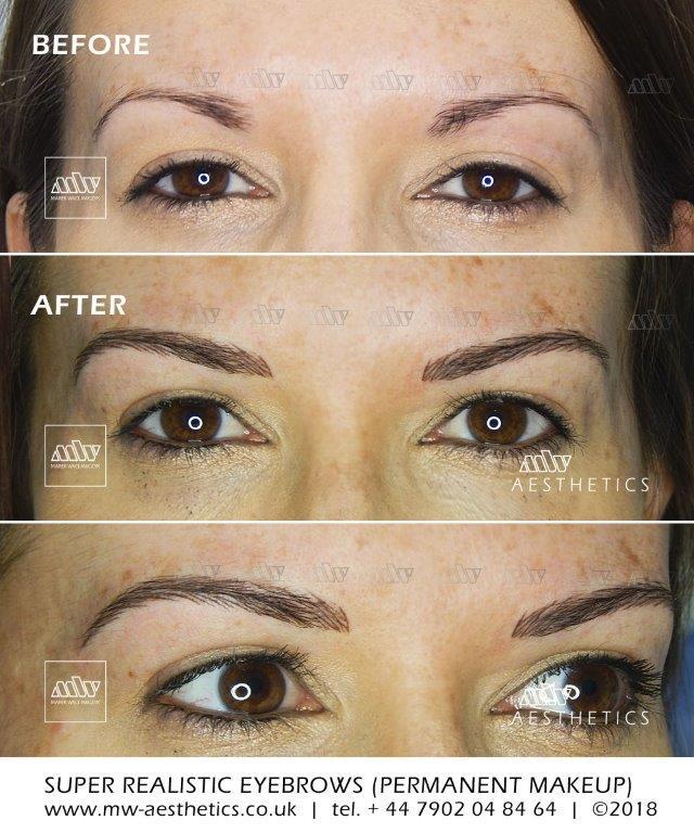 3d Hair Stroke Permanent Makeup Eyebrows : stroke, permanent, makeup, eyebrows, Permanent, Eyebrows, Aesthetics