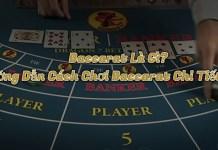 Baccarat là gì? Hướng dẫn cách chơi bài Baccarat tại W88 đầy đủ nhất