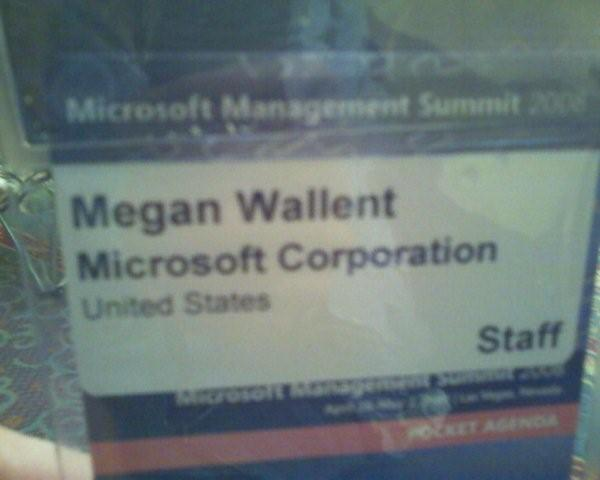 My Megan MMS Badge