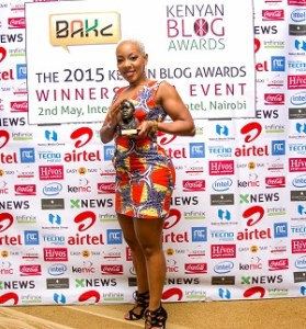 Jane Mukami, Winner of Best Health Blog 2015