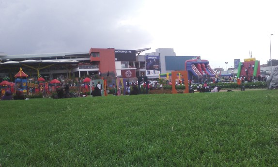 Garden City mall grounds.