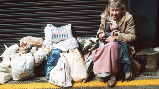 Homeless woman- Not Shiku