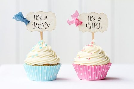 Baby Showers cupcakes