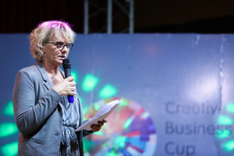 Denmark Ambassador to Kenya, Mette Knudsen, at the Creative Economy Summit
