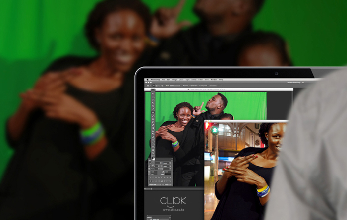Live Green Screen Photography