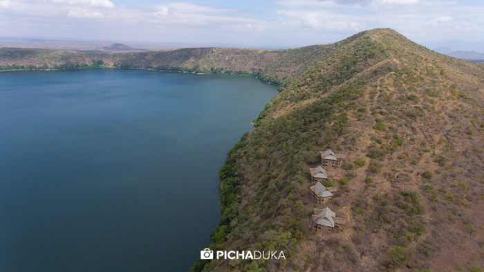 Lake Chala on 23rd August 2017.