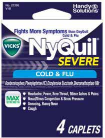 NYQUIL SEVERE NON PSE 4 CT