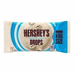 HERSHEY'S COOKIES N CREME DROPS KING SIZE 2.1 OZ