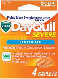 DAYQUIL SEVERE 4CT CAPLETS