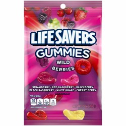 LIFEAVERS GUMMIES WILD BERRIES 7 OZ BAG