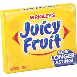 GUM JUICY FRUIT SLIM PACK 15 PIECE
