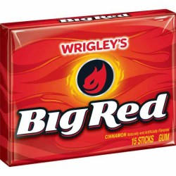 GUM BIG RED 15 PIECE