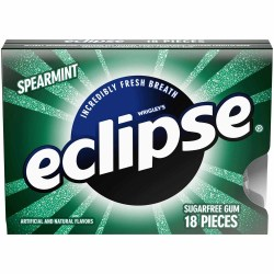 ECLIPSE SPEARMINT GUM 18 PC