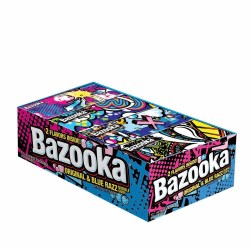 BAZOOKA BUBBLE GUM WALLET PACK 2.112 OZ