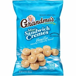 GRANDMAS VANILLA CREAM MINI 3.71 OZ BAG