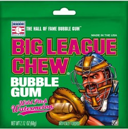 BIG LEAGUE CHEW WATERMELON 2.12 OZ