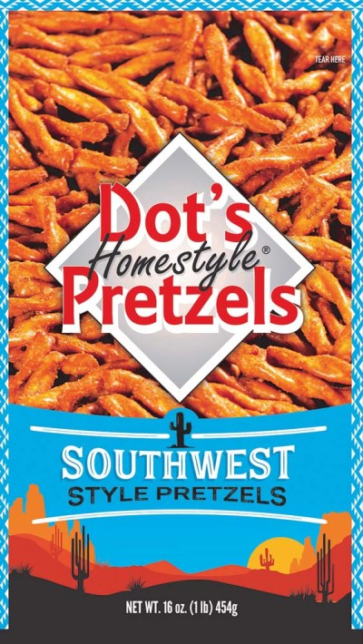 DOT'S SOUTHWEST PRETZELS 16 OZ