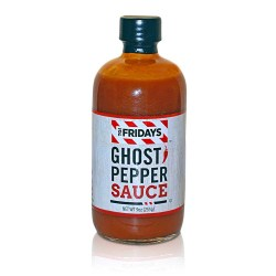 TGI FRIDAYS GHOST PEPPER SAUCE 9 OZ 12 PER BOX