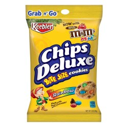 KEEBLER CHIPS DELUXE RAINBOW COOKIES 3 OZ 6 PER BOX