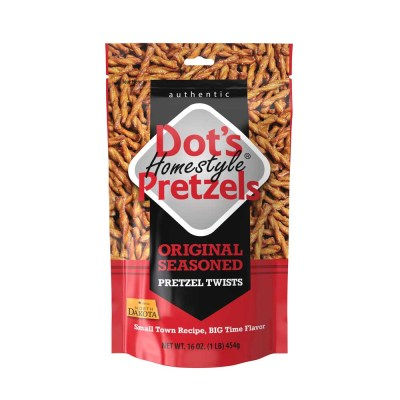 DOT'S HOMESTYLE PRETZELS 16 OZ DISPLAY BOX