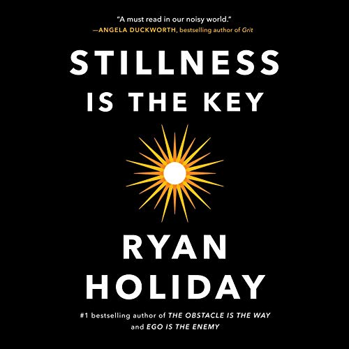 book cover of stillness is the key.