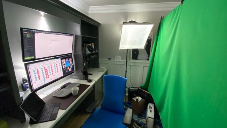My room setup for wfh
