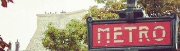 #paris #metro #sign #streetphotography (Taken with instagram)
